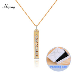 personalized necklace initial name necklace pendant initial letter necklace DIY Slider Charms Necklace DIY letter Necklace