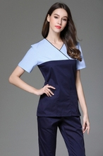 European and American slim splicing suit plastic surgery service cosmetic front desk pharmacy dental overalls