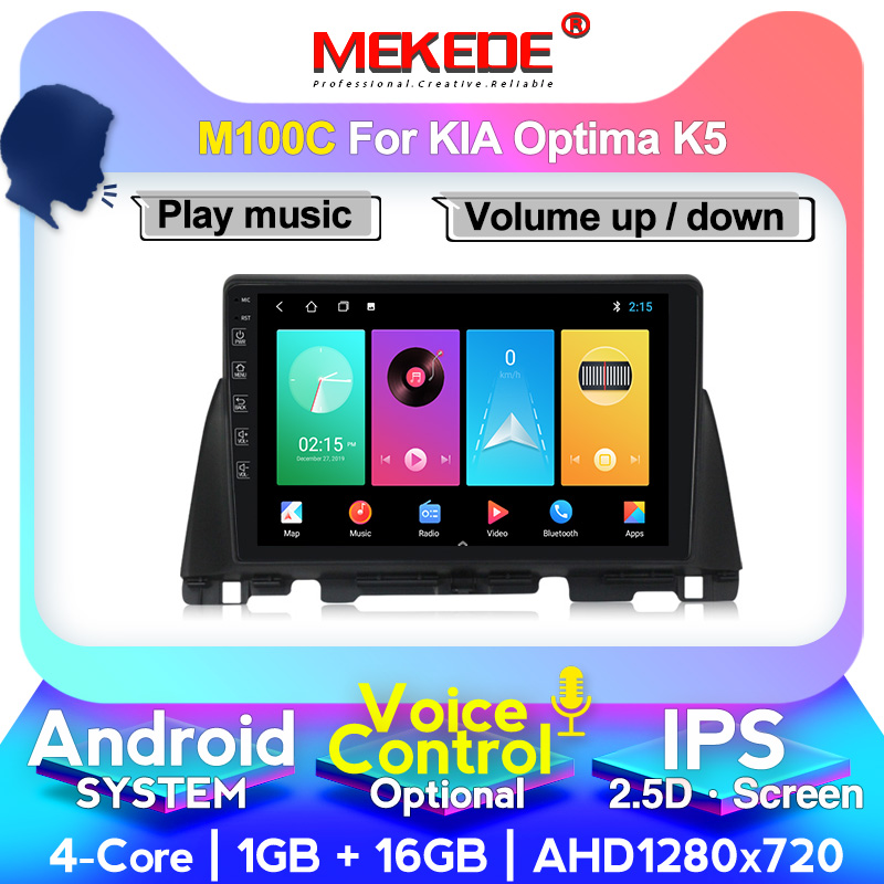 MEKEDE M400 4G RAM 64G ROM IPS Screen Android Für <font><b>Kia</b></font> <font><b>K5</b></font> Optima 3 2016 <font><b>2017</b></font> 2016 2019 GPS Navigation Stereo Radio Bluetooth image