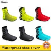 Rapha 2020 New multicolor winter plus velvet warm riding waterproof shoes set triathlon mountain bike bicycle shoe cover|  -