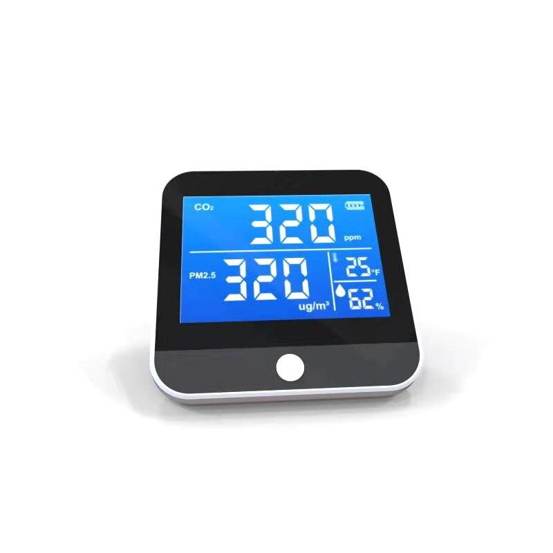 1 шт. Портативный мониторинга качества воздуха Температура влажности монитор инфракрасный NDIR CO2 детектор Крытый CO2 обнаружения Бесплатная д...