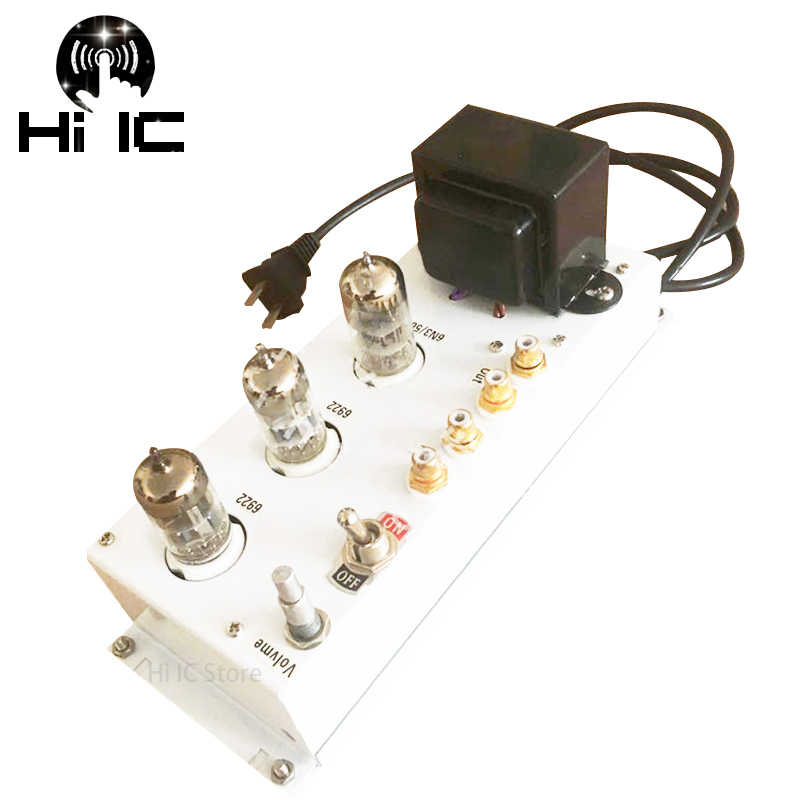 HiFi Audio SRPP Preamp Valve  6N11/6922 Tube Preamp Bile Preamplifier Stereo Audio 6N3 Tube Amplifier