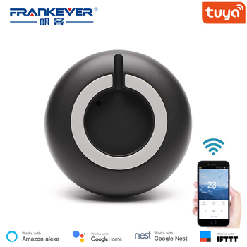 FrankEver Mini Smart IR Universal Remote Control TV AC Voice Remote Work with Alexa Google Home Assistant