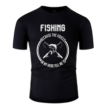 personalized fishing angler fish fishing fishing lake t shirt for men Normal men's tshirt Comics Hipster(China)