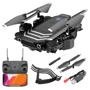 Image 5 - XKJ New RC Drone LS11 WIFI FPV With HD 4K Camera Hight Hold Mode One Key Return Foldable Arm RC Quadcopter Drone For Gift