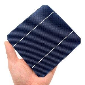 Image 5 - 10 40 50 100 Pcs 2.8 W 125 x 125MM Cheap Mono Solar Cells 5x5 Grade A monocrystalline PV DIY Photovoltaic Sunpower C60 Solar Pan
