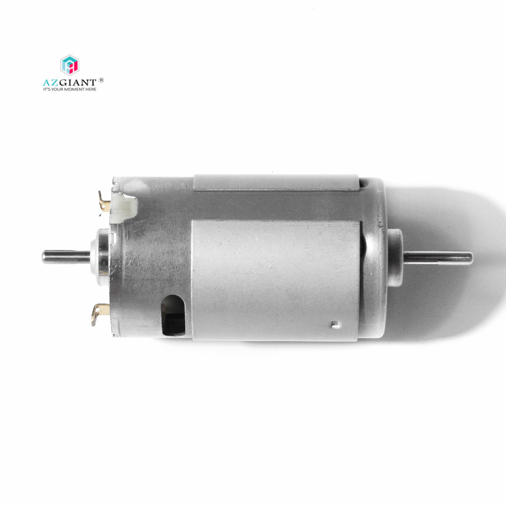 Brand new Johnson 395 DC motor double output shaft high speed 12V 18V 11700rpm for robots