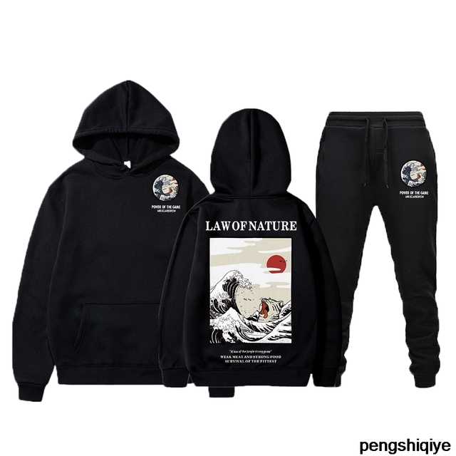 2020 yeni hpt hoodies takım elbise rahat erkek eşofman kazak moda polar kapüşonlu takım elbise + ter pantolon koşu kazak erkek erkek seti