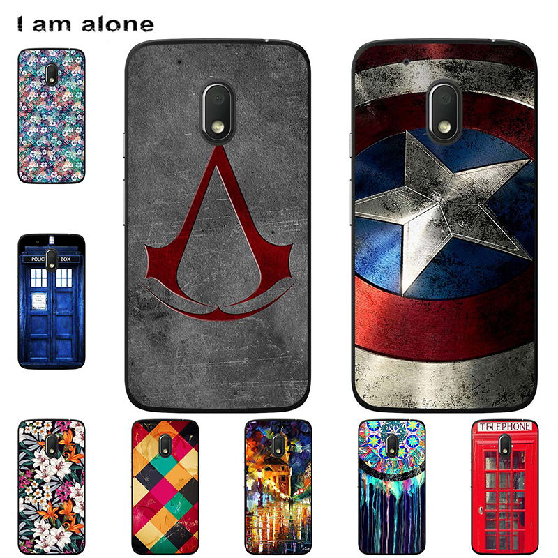Phone Cases For Motorola Moto G4 G4 Plus/G4 Play Soft TPU Mobile Bags Cartoon Printed For Moto G4 G4 Plus Cover Free Shipping
