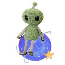 Jouets en peluche en forme d'alien ET, mignon, Kawaii, décoration de chambre pour enfants ET petite amie, cadeaux de vacances d'anniversaire