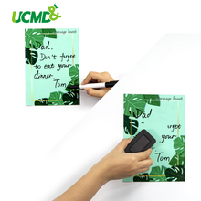 A5 Size Magnetic White Board Fridge Magnets Removable Wall Decal Stickers Whiteboard for Home Office Erasable Message