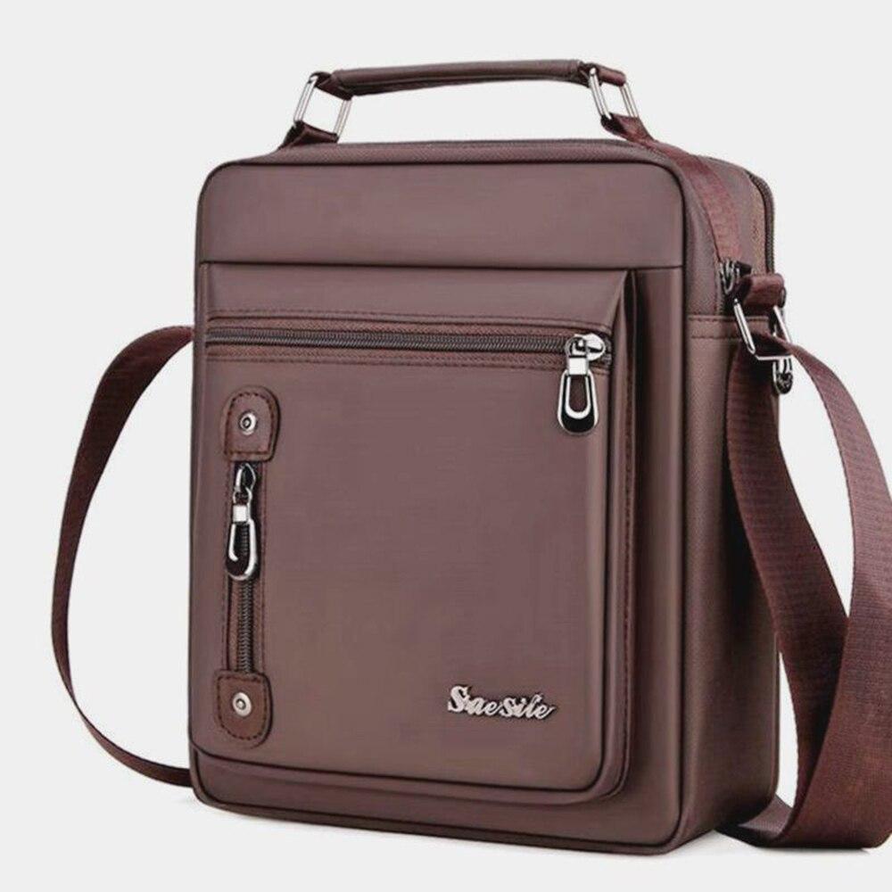 Bags Purse Laptop-Bag Computer Business-Bags Vintage Briefcases Shoulder-Bag Men's Portable