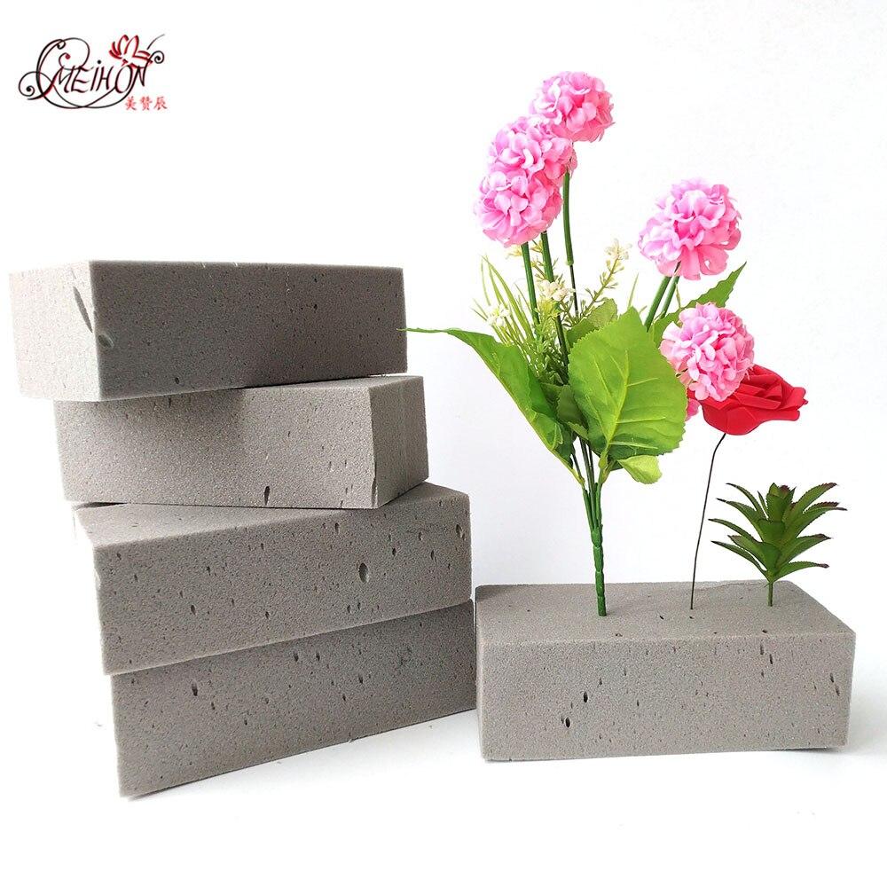 Floral Foam Flower Foam Blocks Green Colorful Dried Flower//Florist Flower Artificial Flowers Wedding Bouquet Holder Craft Green Bricks