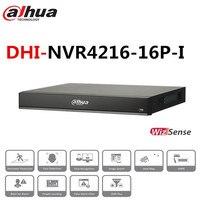Dahua CCTV Network Video Recorder NVR4216 16P I 16 Ports POE Smart H.265+ Support ONVIF and 2 way Talk dahua NVR Recorder