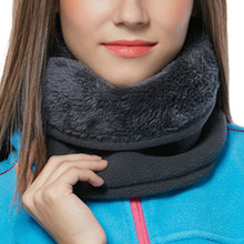 Unisex inverno quente ao ar livre multifuncional cachecol térmico lã quente snood cachecol pescoço mais quente gorro esqui balaclava hat