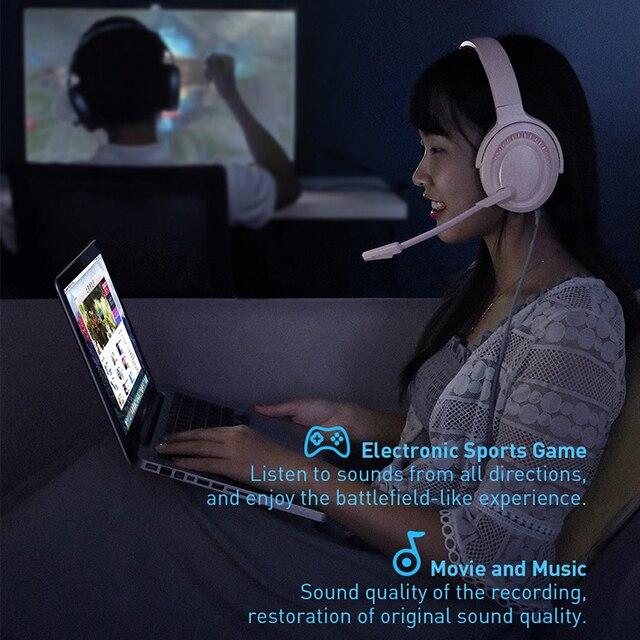 Baseus D05 3D Stereo Gaming Headphone USB/Type-C Colorful LED Light 2