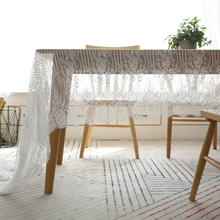 Ins стиль скандинавские белые кружевные скатерти салфетка чайная
