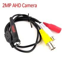 Mini cámara HD AHD Seucrity de 2MP, 1080P, pequeña cámara de videovigilancia CCTV para sistema AHD DVR