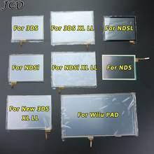 JCD – écran tactile en verre de remplacement pour Nintendo DS Lite, pour NDSL NDSi XL, pour nouveau 3DS XL Wiiu PAD