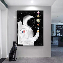 Modern Figure Canvas Painting Decoration Home Decor Poster Print Living Room Bedroom Office Space Astronaut Picture Wall Art