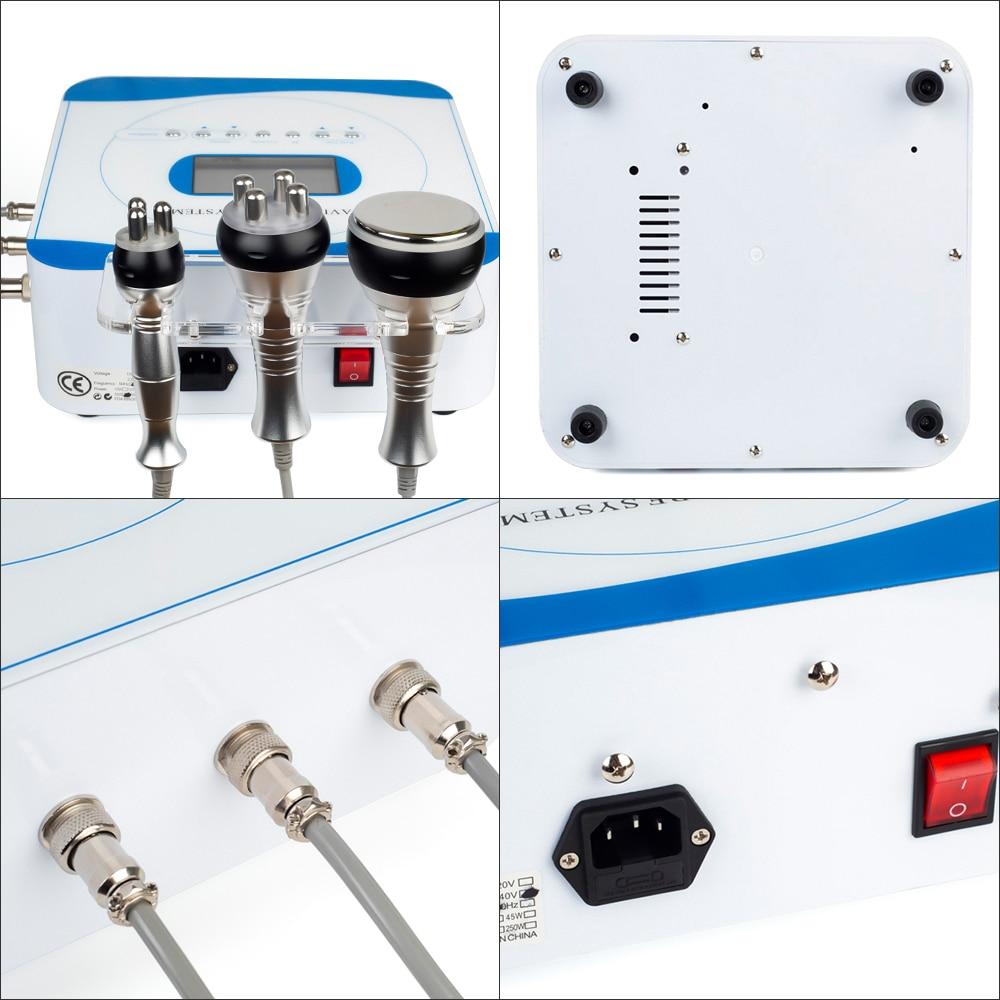 3in1 Multipolaire Rf 40K Cavitatie Ultrasone Gewichtsverlies Schoonheid Machine Huidverjonging Lifting Draai Anti Rimpel Thuisgebruik - 5