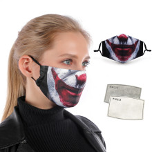 Fashion Reusable Protective PM2.5 Filter Printing mouth Mask anti dust Face mask Windproof Mouth-muffle bacteria proof Flu Mask(China)