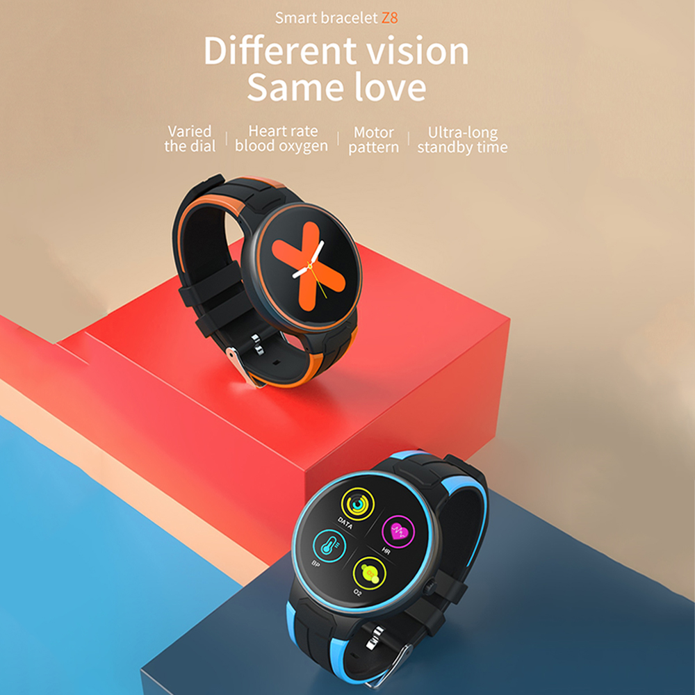 Z8 Smart Bracelet Watch For Androi/and IOS Phones 2019 Waterproof,Fitness Tracker Watch With Pedometer Heart Rate Monitor