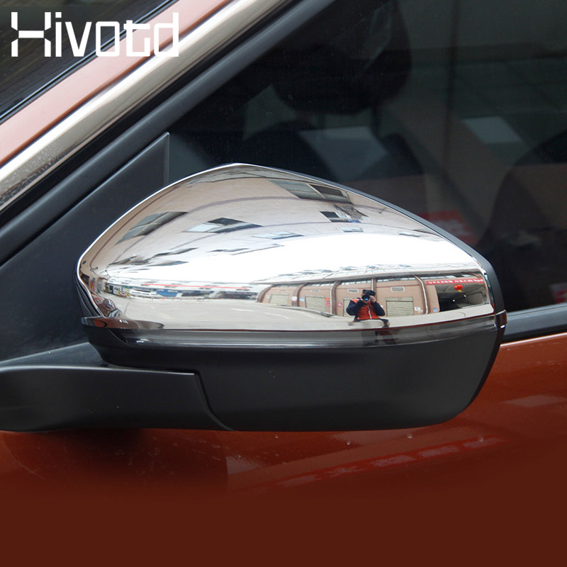Hivotd For <font><b>Peugeot</b></font> <font><b>3008</b></font> GT 3008GT 2018 2019 Car styling Rearview Side Door Mirror Cover Chrome stick frame Exterior <font><b>accesorios</b></font> image