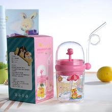 Straw-Juice Milk-Bottle Whale Play Learn-Feeding Water Children Infant Cup 250ML