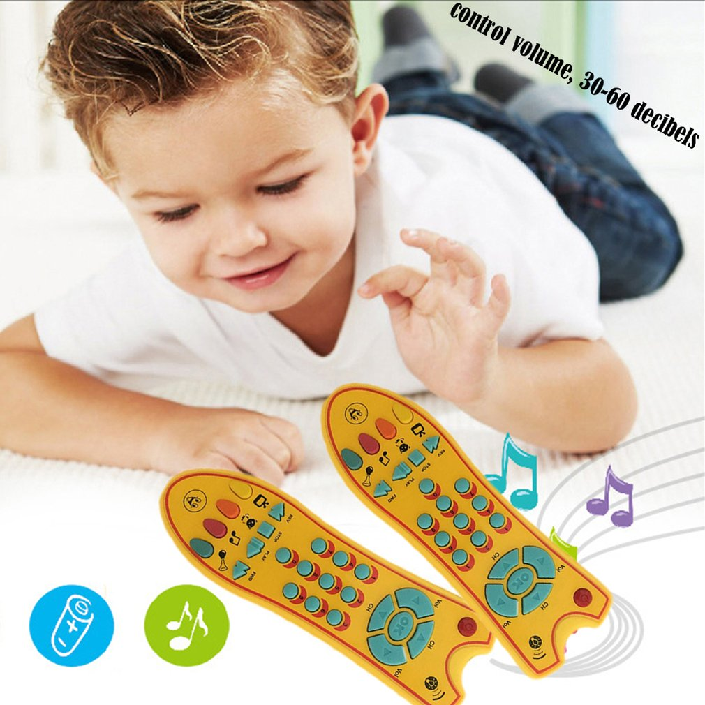 Hot Baby Toys Colorful Music Mobile Phone TV Remote Control Early Educational Toys Electric Numbers Remote Learning Machine Gift
