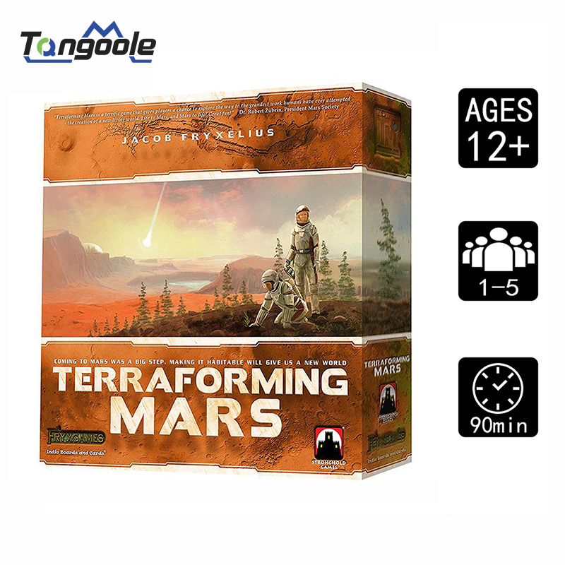 New Board Game Terraforming Mars Family Games 1--5 Player Table Card Game
