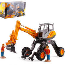 1:50 scale spider excavator alloy engineering car children model toy vehicle collection series traffic decoration gift
