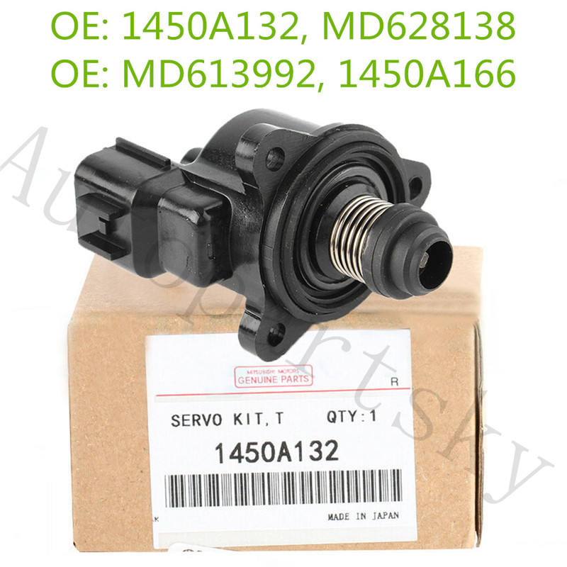New Idle Air Control Valve 1450A166 For Mitsubishi For Chrysler For Dodge Lioncel Lancer 1450A132 MD628138 MD613992