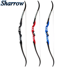 24-36lbs Archery JUNXING 66inch Recurve Bow Lightweight High Strength Aluminum Alloy Removable Takedown Longbow Hunting Shooting