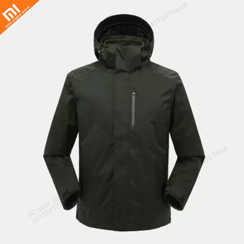 Xiaomi ULEEMARK Jacket Waterproof Windproof Wear-resistant Tear-resistant Jacket Liner Detachable Outdoor Casual Wear