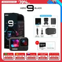 GoPro HERO9 Black Action Camera subacquea 5K 4K con schermo frontale a colori, Sports Cam 20MP foto, Streaming Live Go Pro HERO 9