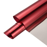 110cmx4m Heat Insulation Window Sticker Self Adhesive Glare Reduction One Way Mirror One Way Perspective Durable Tint Film