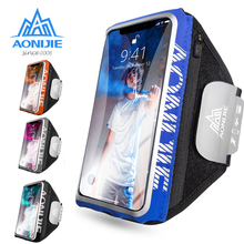 AONIJIE Touchscreen Armband Arm Bag Cell Mobile Phone Pouch Pack For Running Jogging Gym Fitness Case Holder Cover