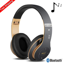 6S Wireless Headphones Hifi Casque Audio Bluetooth Over Ear Headphone Stereo Bass Subwoofer Headset With Mic Support TF Card стоимость