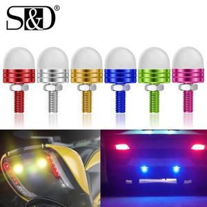 10Pcs Eagle Eye LED Light Car Daytime Running Bulb Source Backup Reversing Parking Signal Motorcycle Screw Lamp Waterproof 12V