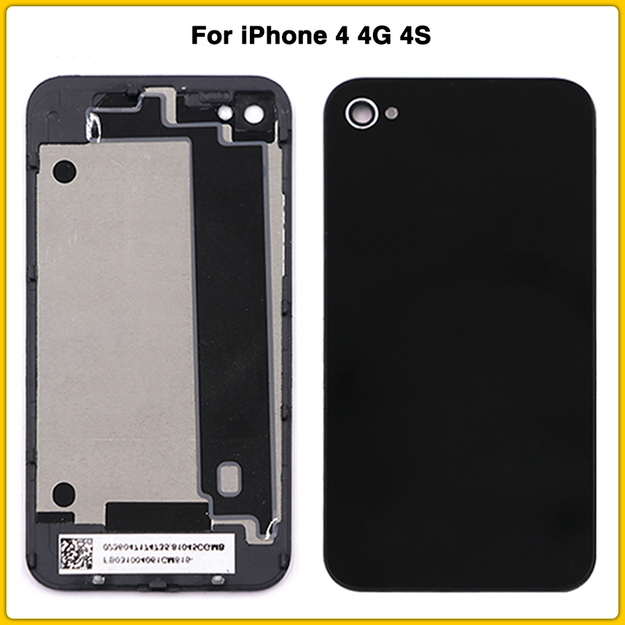 Housing-Case Middle iPhone 4 Replacement Battery Chassis-Body Back Repair-Parts New