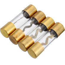 New Arrival 1pcs 30A Car Audio AGU Fuse Holder with 4 30A Fuses For Car Audio Refit Fuse Holder Car Stereo Audio Circuit стоимость