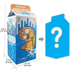 Большая коробка Lost kitties, молочная коробка, мягкая глина, сюрприз, глухая коробка со случайным моделированием, игрушечные котята, подарок для ...