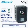 Watervoorziening controller met constante druk voor pomp converter 380V 7.5kw/11kw ac motor speed controller