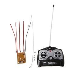 5CH 27Mhz Remote Controller Unit Receiver Board+Remote Control For Tank Car Toy Radio System for 130 Motor 6V 5V
