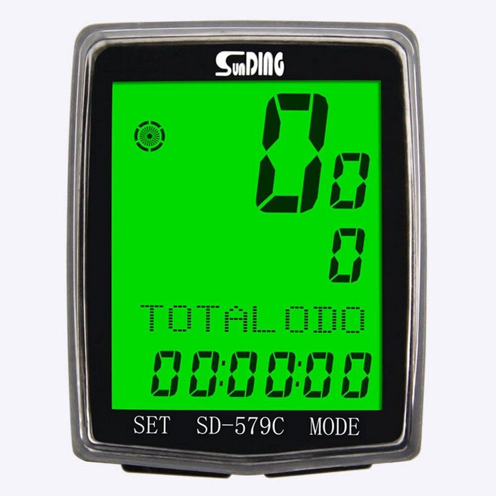 Sd 579c беспроводной велосипедный компьютер спидометр водонепроницаемый