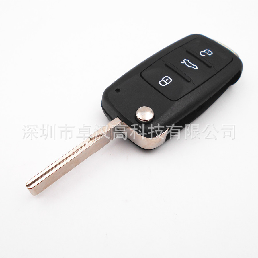 For Volkswagen VW Jetta A4 Clasico Instead of Original Factory Auto Car Key High Quality New 3 Buttons Key Shell Change|shell macbook|a4 self adhesive paper|a4 led - title=
