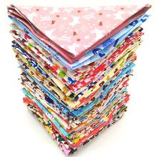 Wholesale 100 Pcs Pet Dog Bandana New Mix 63 Pattern Cute Puppy Cat Bibs Scarf Adjustable Cotton Dog Bandana Pet Accessories