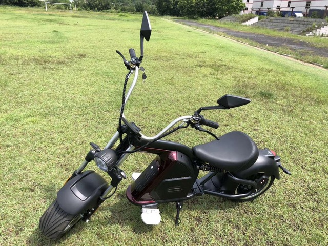 European Warehouse New Model Electric scooter 2000W fat Wheel Citycoco M8 Adult Motorcycle Chopper 3