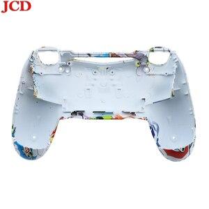 Image 5 - JCD funda trasera de repuesto para PS4, reparación de placa frontal de carcasa para mando de PS4, funda para dualshock 4